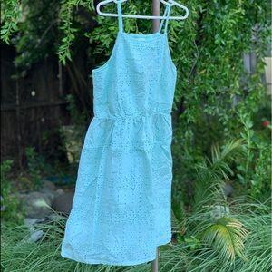 OLD NAVY Mint Green Sleeveless Dress Sz XL 14
